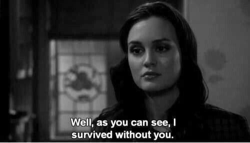 Image about quotes in gossip girl by vickye on We Heart It