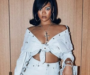 beauty, hairstyle, and rihanna image