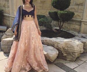 arabic, saree, and shaadi image