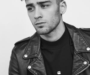 zayn, zayn malik, and black and white image