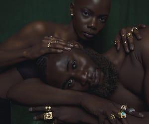 art, black love, and melanin image