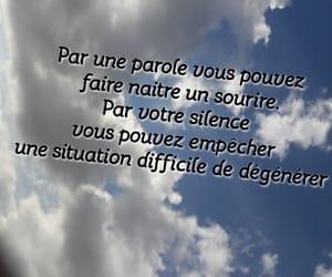 bonne, sourire, and parole image