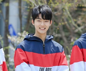 kevin, the boyz, and moon hyungseo image