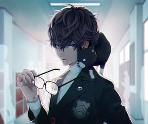 cool, handsome, and anime boy image
