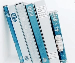 blue, books, and reading image