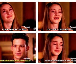 crying, daren kagasoff, and Relationship image