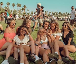 friendship, goals, and coachella vibes image
