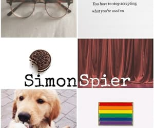 aesthetic, book, and love simon image