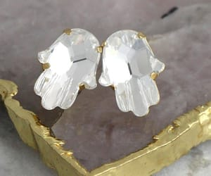 bridal jewelry, etsy, and crystal earrings image
