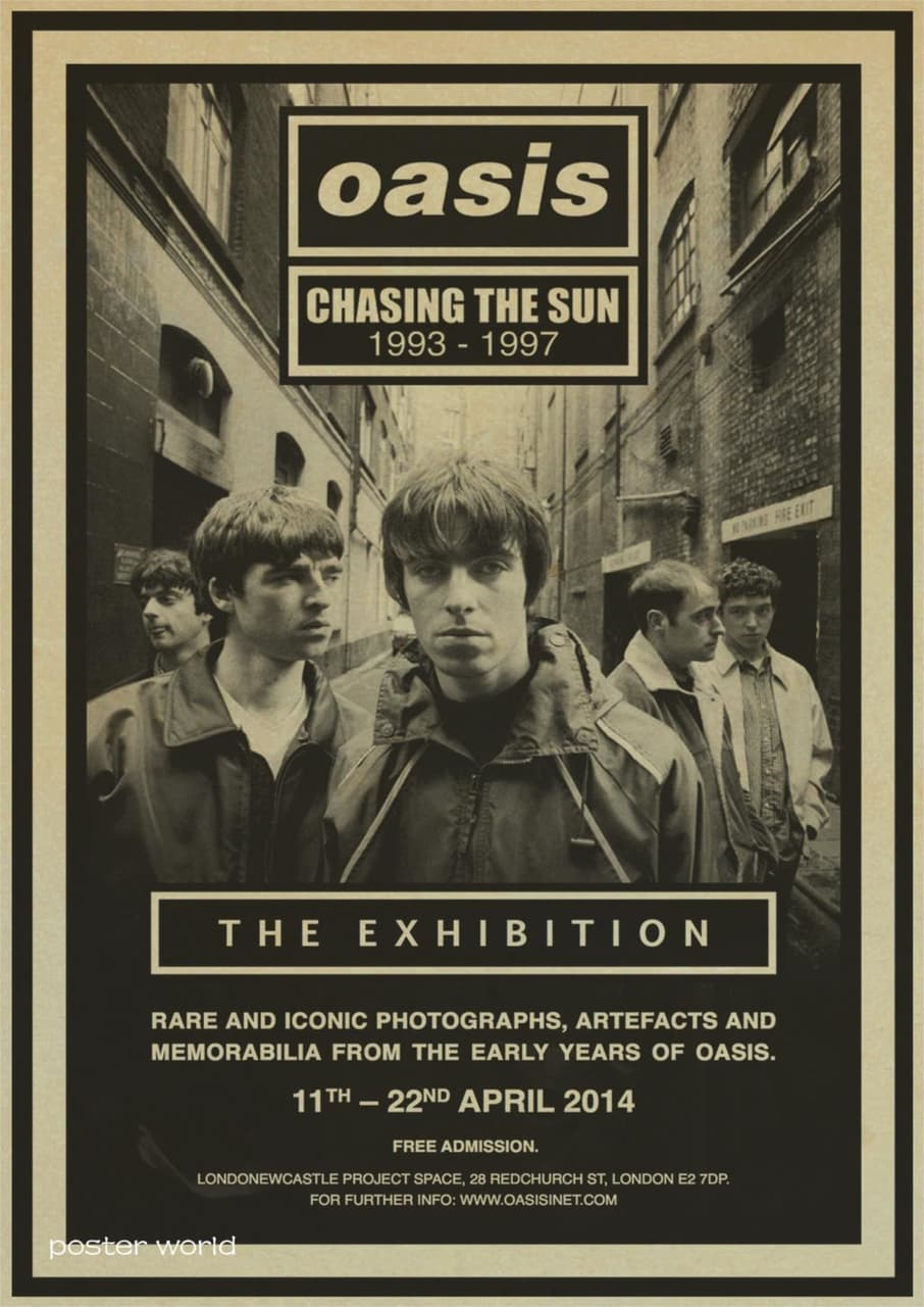 Top 5 Oasis songs on We Heart It