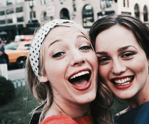 gossip girl, blair waldorf, and friends image
