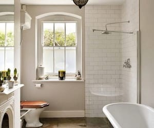 bathroom, country living, and home decor image
