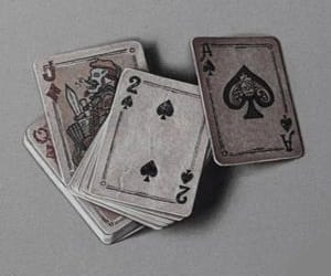 2, Queen, and deck of cards image