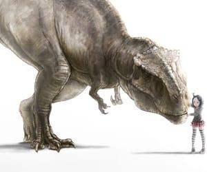 dinosaurio, anime, and dinosaur image