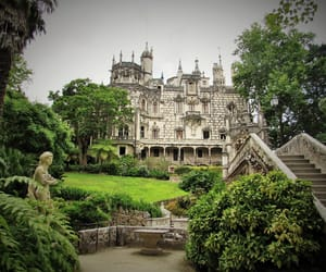 art, castle, and portugal image