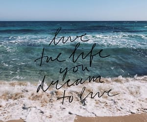 beach, motivation, and ocean image