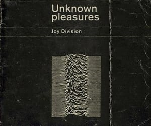 joy division, unknown pleasures, and music image