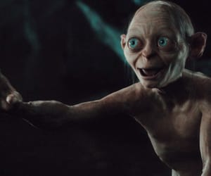 creature, LOTR, and the hobbit image
