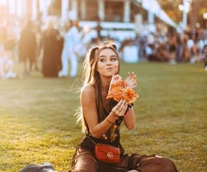 beautiful, coachella, and pizza image