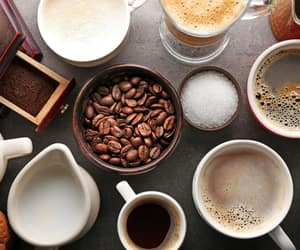 article, cups, and morning coffee image