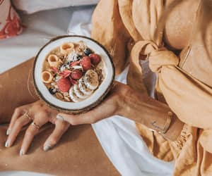 breakfast, delicious, and FRUiTS image
