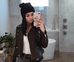 bathroom, fashion, and jacket image