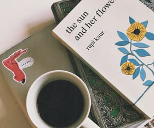 coffee, poetry, and rupikaur image