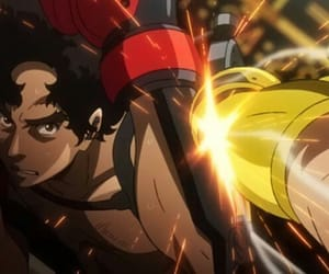 anime, fighter, and megalo box image