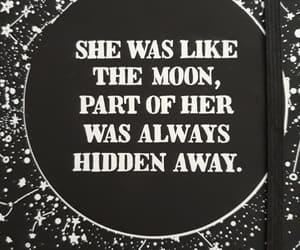 moon, notebook, and killstar image
