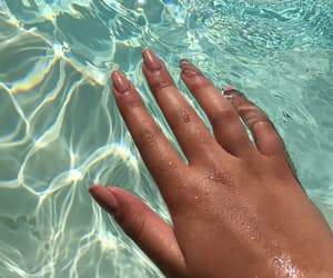nails and sea image