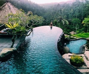 pool, travel, and summer image
