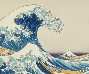 japan and waves image
