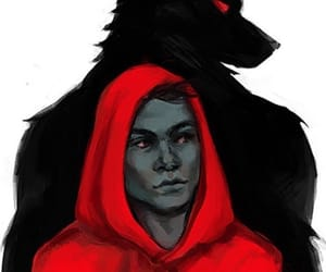 wolf, teen wolf, and litlle red riding hood image