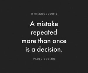 decisions and mistakes image