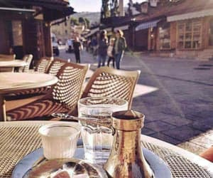 Bosnia, chilling, and coffee image