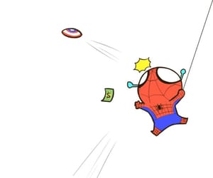 Marvel, spiderman, and cute image