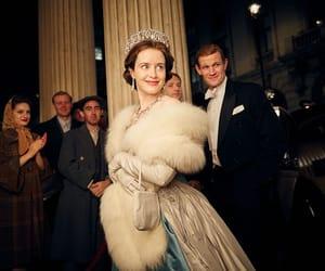 the crown, queen elizabeth, and matt smith image