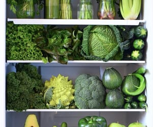 fridge, healthy, and parsley image