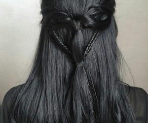 hair, black, and braid image