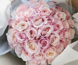 bouquet, gift, and girly image