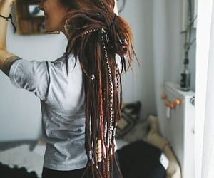 bun, dreadlocks, and dreads image