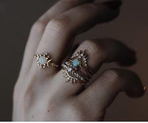 bride, wedding, and jewelry image