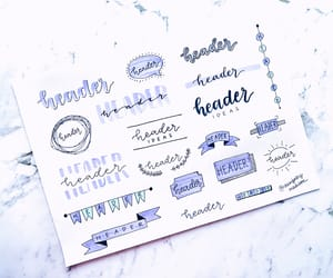 aesthetic, colors, and lettering image