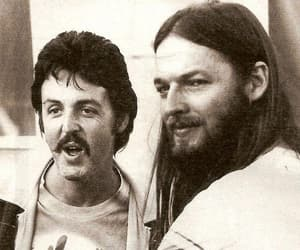 david gilmour, Pink Floyd, and Paul McCartney image