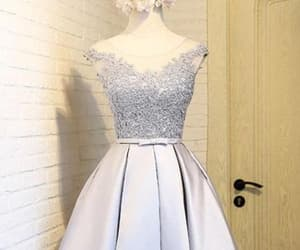 silver homecoming dress and short homecoming dress image