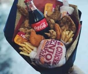 food, fast food, and gift image