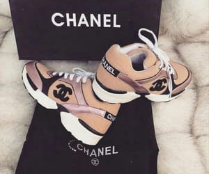 shoes, chanel, and sneakers image