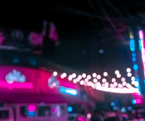 bar, cafe, and neon lights image