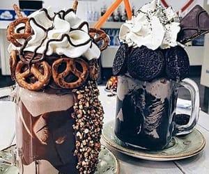 food, chocolate, and oreo image