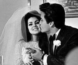 Elvis Presley, priscilla presley, and couple image